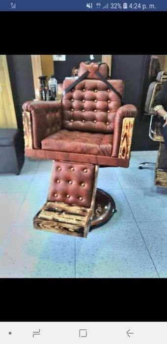 Muebles ,<strong>sillas</strong> Tocadores para Barberia