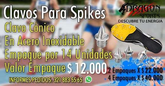 Clavos para Spikes Atletismo