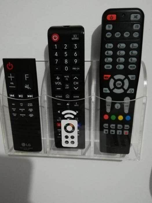 Soporte Base Pared Repisa Control Tv