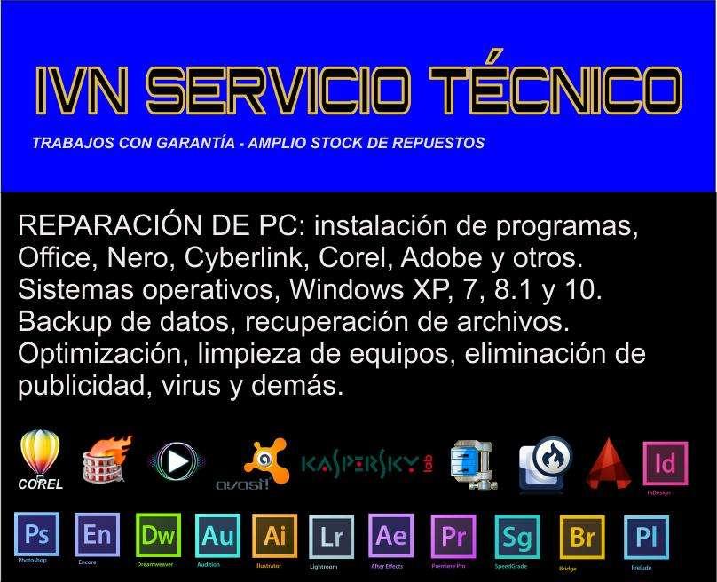 INSTALACIÓN DE WINDOWS Y PROGRAMAS RECUPERACIÓN DE ARCHIVOS