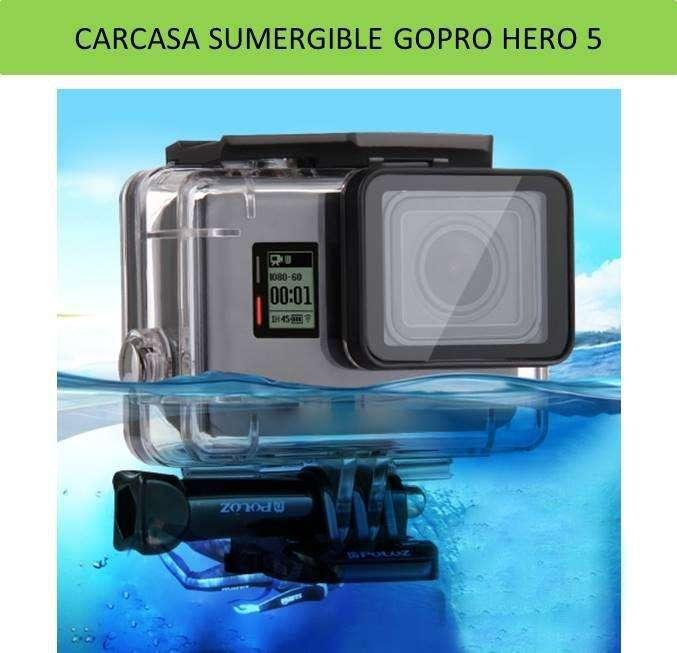 Carcasa Sumergible para cámaras Gopro 5, 6 y7