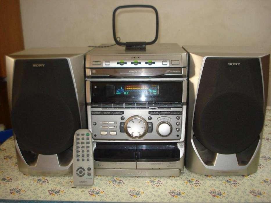 Minicomponente Sony Grx30 C/ctrl Orig.excelente Sonoridad!!!