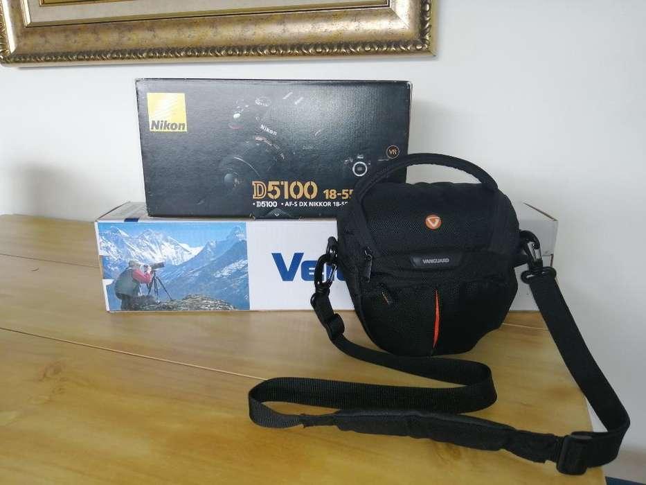 Cámara Nikon 5'100 Más Trípode