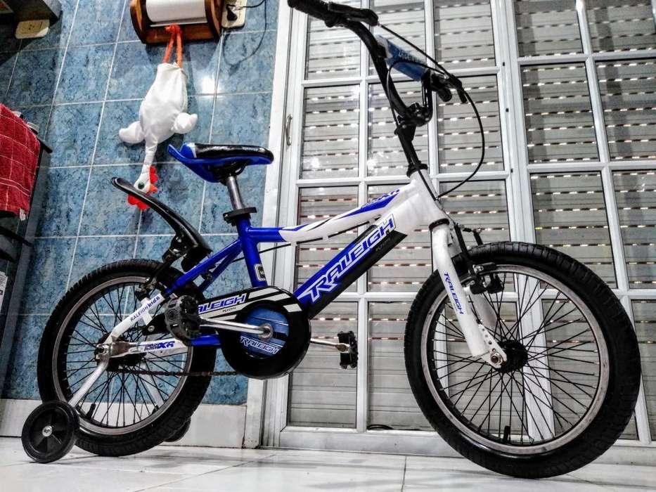 Bicicleta Bmx Raleigh sin Uso Rodado 16