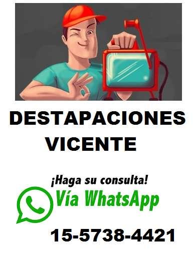 (365X24) DESTAPACIONES EN BARRACAS 15.5738.4421