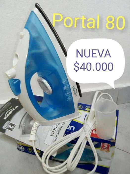 Plancha Vapor Universal Nueva Portal 80