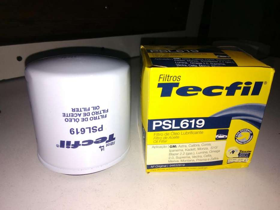 Filtro Aceite Tecfil Psl619 mann W 712/22 P/corsa Spin
