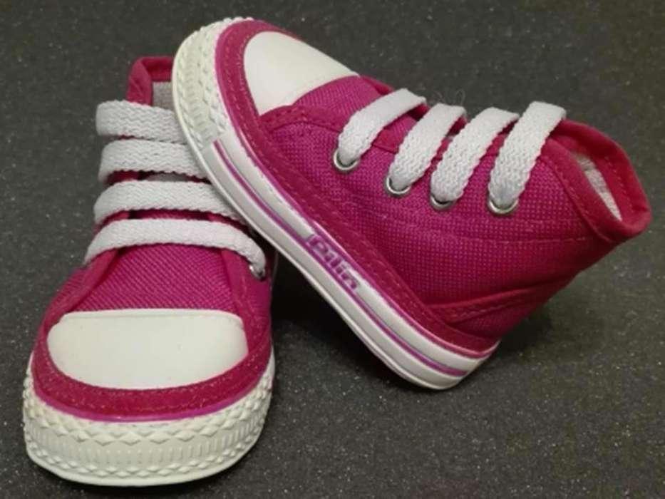 Zapatos para Bebés Gateadores Ref. 2010 Fucsia