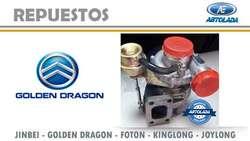 REPUESTOS FURGONETAS GOLDEN DRAGON DIESEL