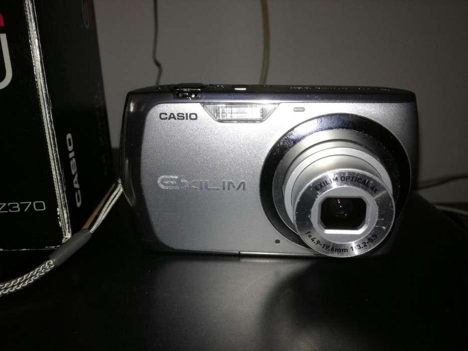 CAMARA DIGITAL CASIO EX Z370 CASI NUEVA. ESPECTACUARES FOTOS Y VIDEOS.