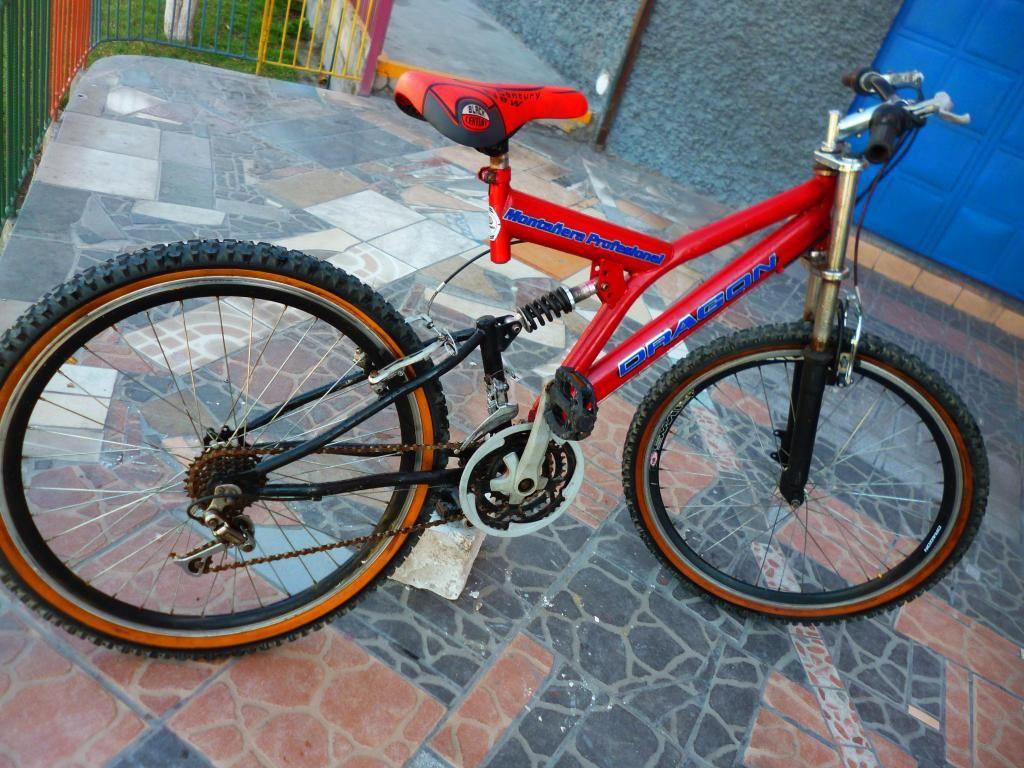 Bicicleta Montañera WINNER ORIGINAL 18 VELOCIDADES Dual Suspensión Tipo DOWNHILL