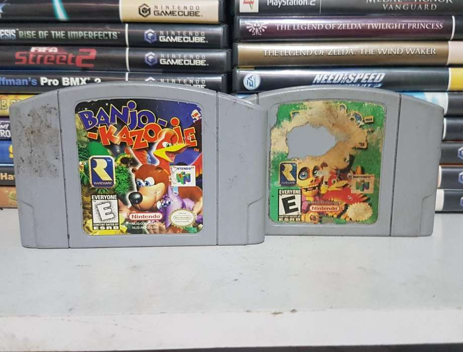 Combo Juegos Banjo para Nintendo 64 N64