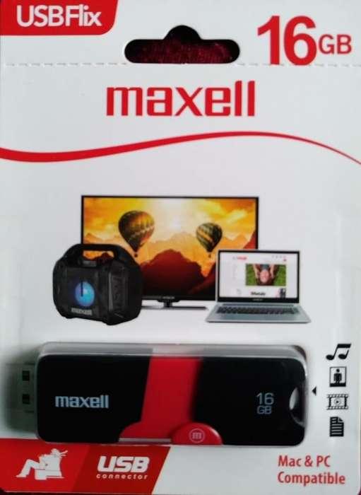 Memoria Usb Maxel Usbflix De 16gb