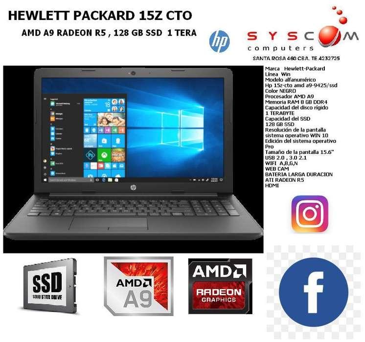 NOTEBOOK SUPER POTENTE SSD 1 TERA 8GB DDR4 A9 CON ATI RADEON R5