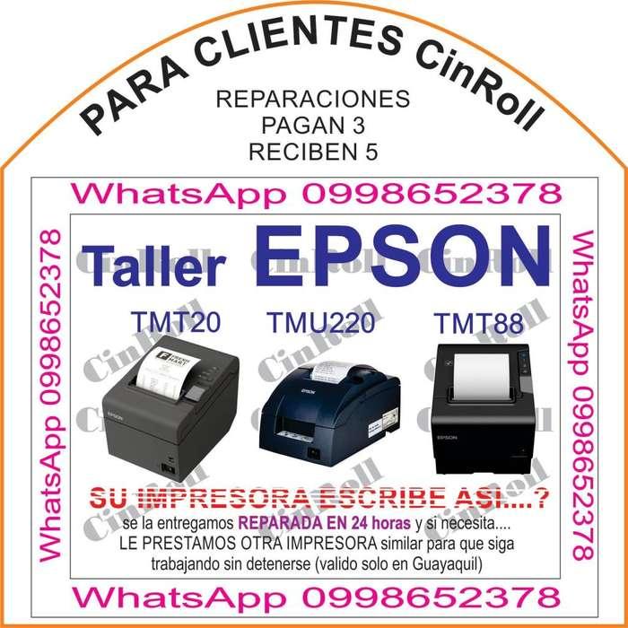 REPARACION DE IMPRESORAS EPSON 5 x 3