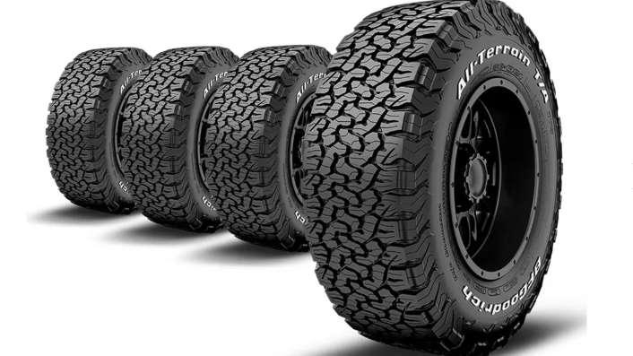 Neumáticos, Gomas, Cubiertas BF Goodrich 30 x 9,5 R 15