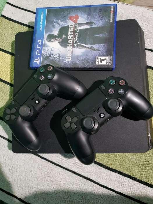 Vendo Play 4 500gb 2 Controles