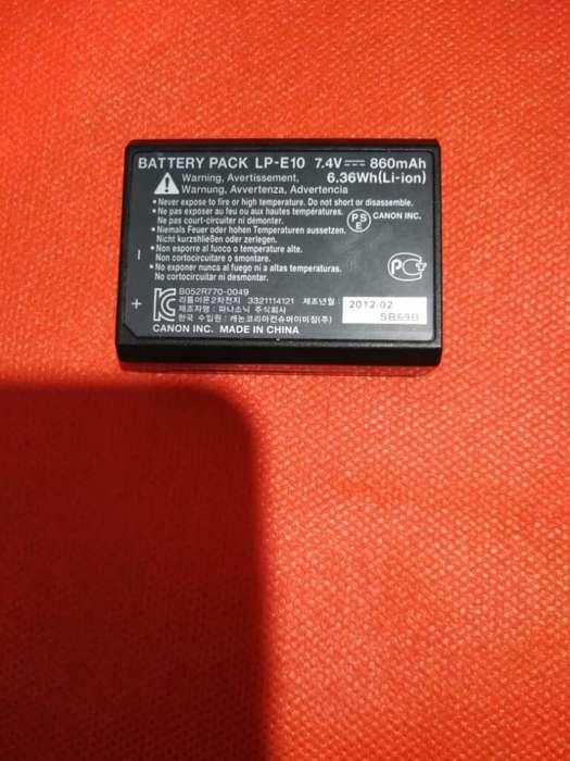 Bateria para Camara T3 Canon 3043410519