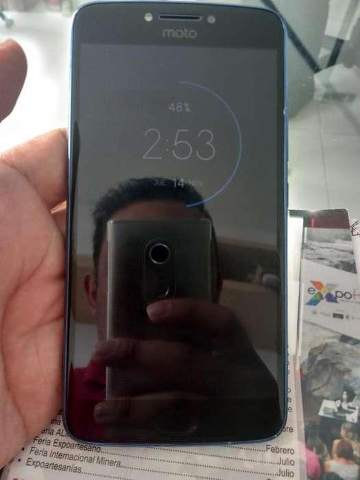 Motorola E4 Plus Azul Buen Estado