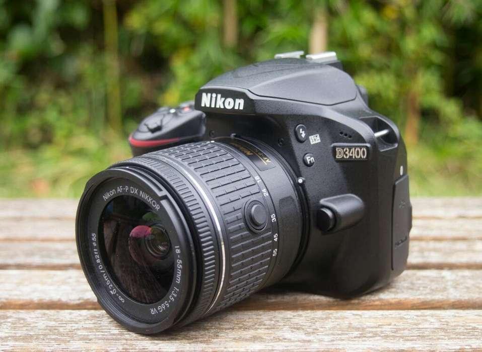 Camara Profesional Nikon Como Nueva