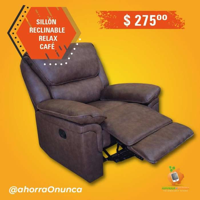 SILLÓN RECLINABLE. RELAX