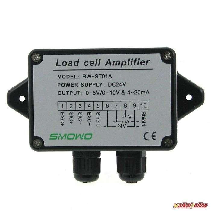 Amplificador de celdas de carga 0-5V (10V) / 4-20 mA