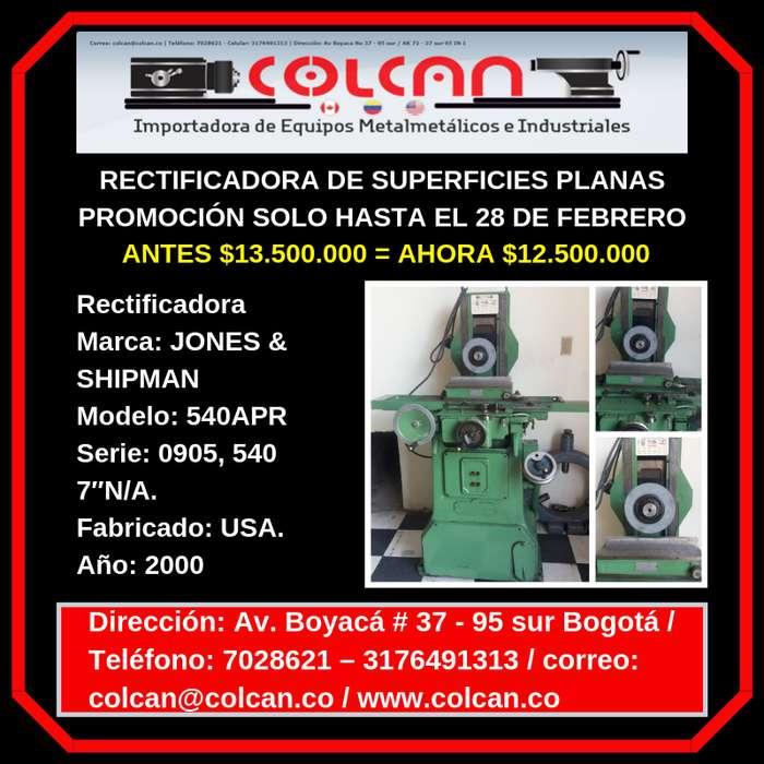 RECTIFICADORA DE SUPERFICIES PLANAS