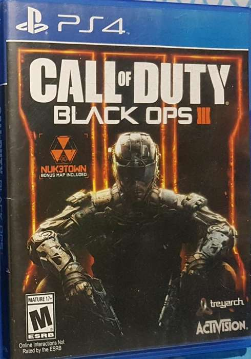 Vendo Call Of Duty Black Ops 3 para Ps4
