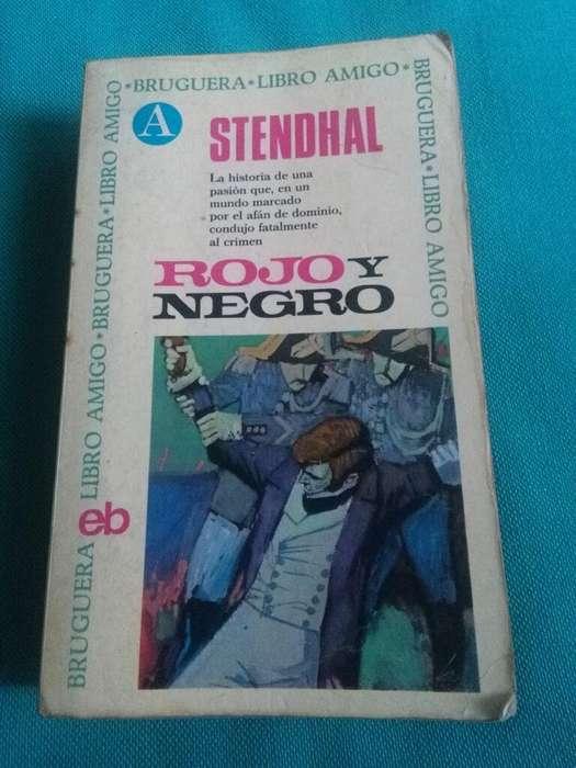 Rojo Y Negro . Stendhal . Novela Bruguera Libro