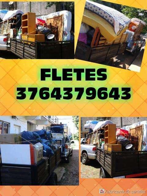 mudanzas fletes al 3764379643
