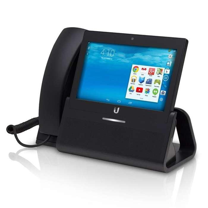 Teléfono VoIP UniFi empresarial con pantalla táctil de 7, Compatibilidad con Bluetooth UVP-EXECUTIVE