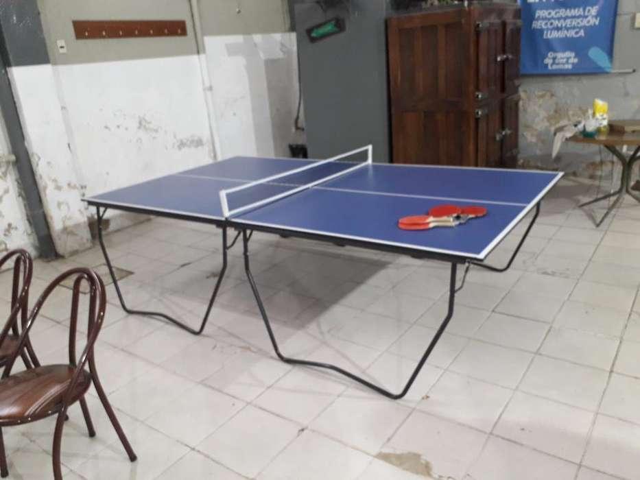 Mesa de Pin Pong..solo 3 Armadas