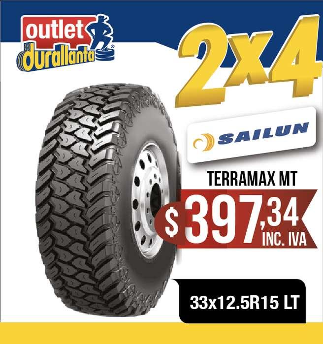 LLANTAS 33x12.5R15 LT SAILUN TERRAMAX MT
