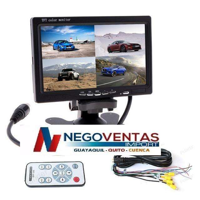 PANTALLA <strong>monitor</strong> DE 7 PULGADAS DE 4 ENTRADAS