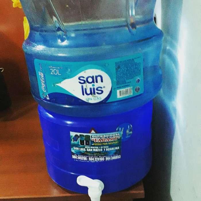 Agua San Luis X 20 Lts