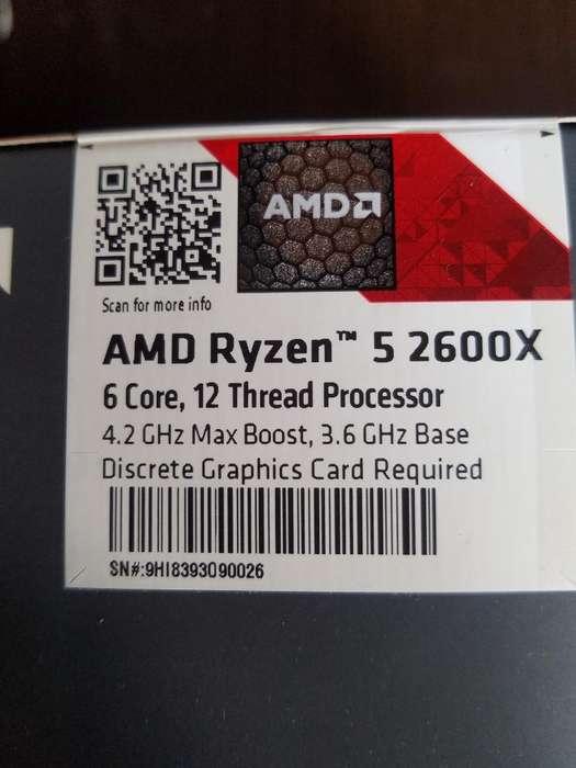 Amd Ryzen 5 2600 X