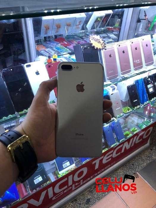 IPHONE 7 PLUS 32GB BLANCO EXCELENTE ESTADO