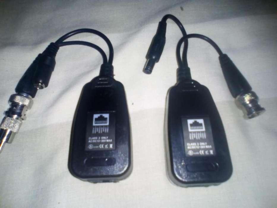 Camara de Seguridad Vídeo Balun pasivo hasta 600 metros soporta cámaras HD 95mil Whatsapp 3002007980