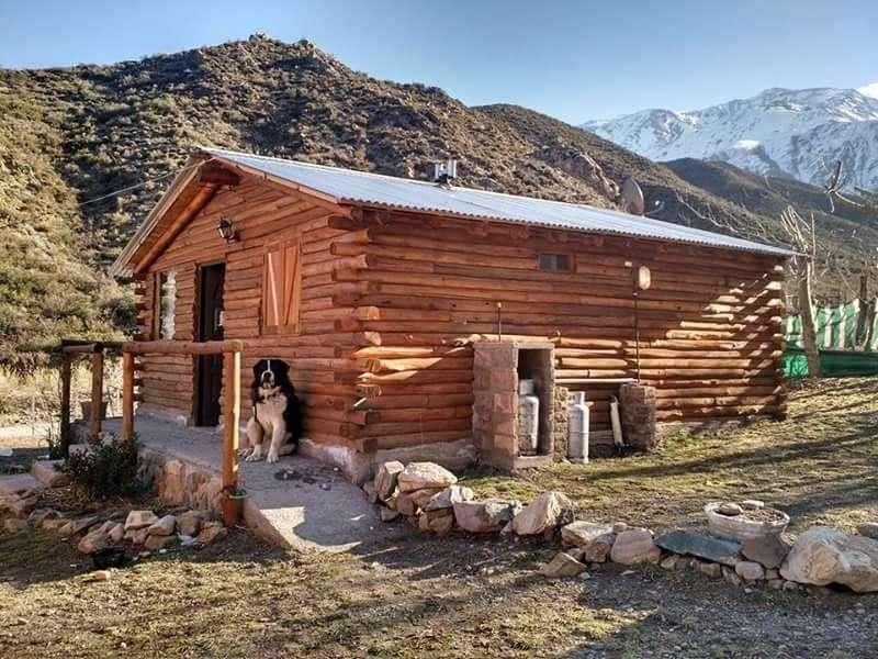 mw41 - Cabaña para 1 a 5 personas con cochera en Potrerillos