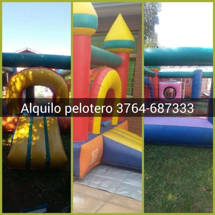 Castillo 6x4 Metros- Cama elastica 3x3 metros con red de seguridad
