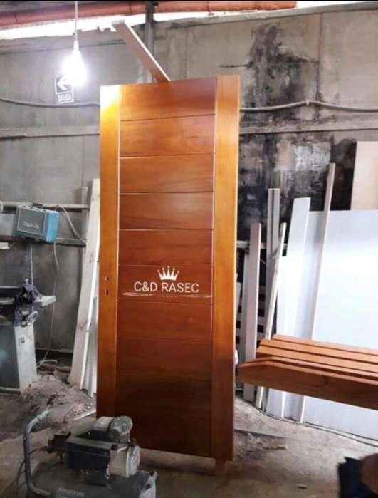 Fabricación Puertas de Madera