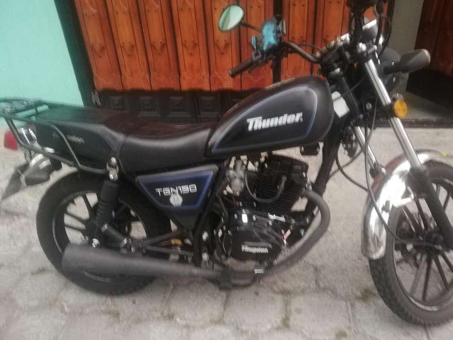 Vendo Mi Bella Moto Thunder