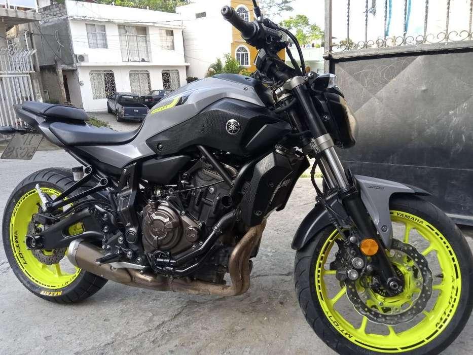 Moto Yamaha de Alta Gama Mt-07