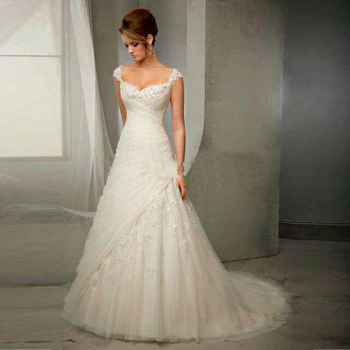 Se vende hermoso vestido de novia nuevo