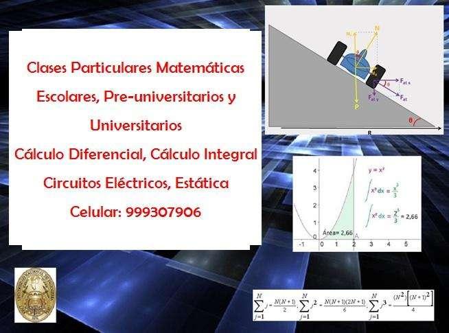 Clases particulares matematicas LOS OLIVOS