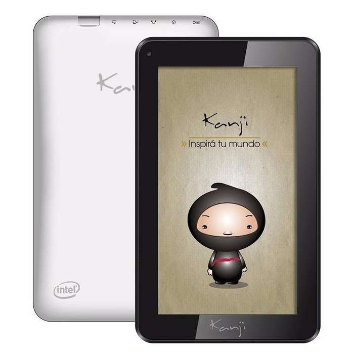 Tablet Kanji YUBI Intel quad core 1 GB 16 GB RECOLETA