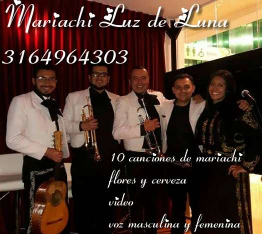 Mariachi Juvenil Luz de Luna Funza Mosquera Madrid