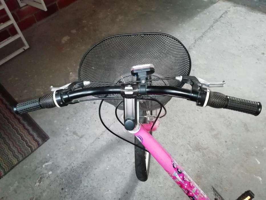 Vendo Bicicleta Rally para Niña