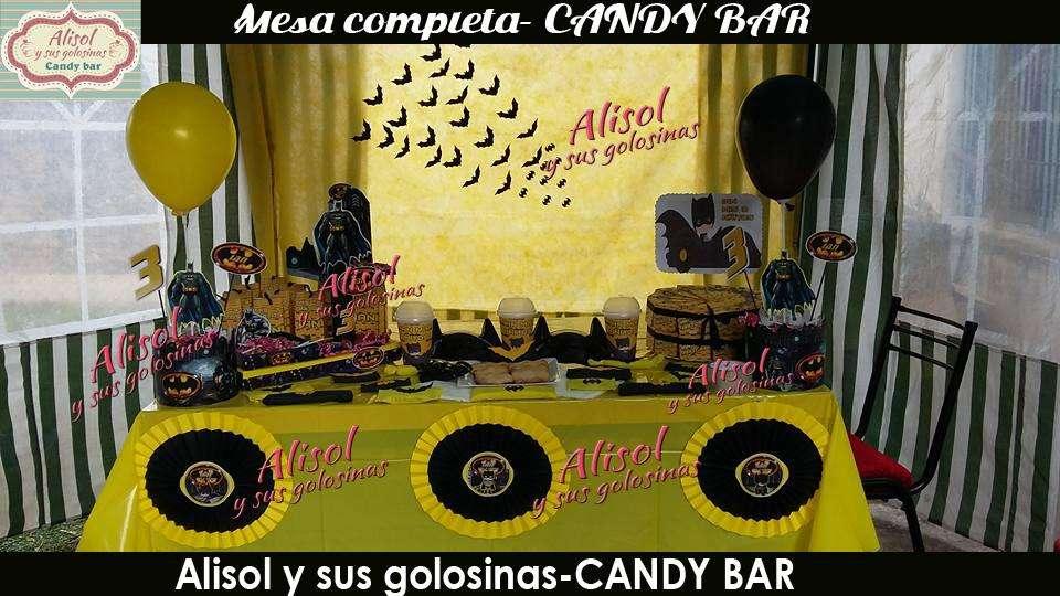 LA MEJOR DECO en -Alisol y sus golosinas candy bar-