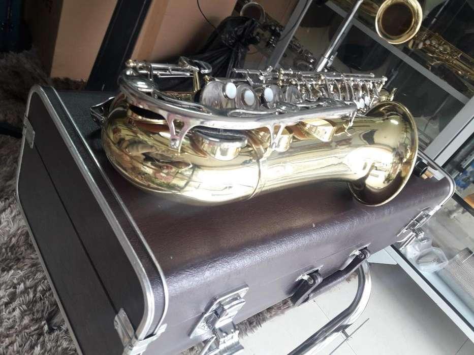 Saxofon Alto Yamaha Japonés Yas 23